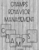 Editable Farmhouse CHAMPS Posters