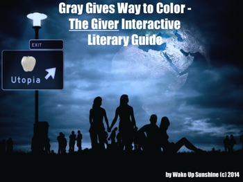 Gray Gives Way to Color: The Giver Interactive Literary Guide