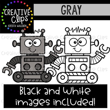 Gray Objects Clipart {Creative Clips Clipart}