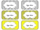 Toolbox Labels (Editable) ~ Gray & Yellow