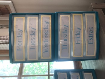 Gray, Yellow and Teal Toolbox Labels