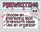 Gray and Aqua Owl Themed Writing Workshop Posters