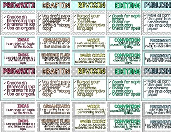 Gray and Aqua Themed Writer's Workshop Posters