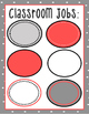 Gray and Coral Classroom Set