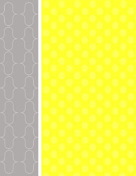 Gray and Yellow Backgrounds and Cover Pages