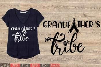 Greandfarther SVG Grandpa Bear SVG Files Grandpa tribe SVG Family 94sv