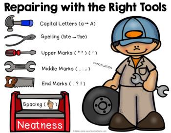 Greasy Grammar Writing Mechanics Bundle