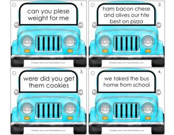 Greasy Grammar Writing Mechanics Set 2 Sentences