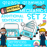 Greasy Grammar Writing Mechanics Set 2 Sentences