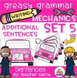 Greasy Grammar Writing Mechanics Set 5 Sentences