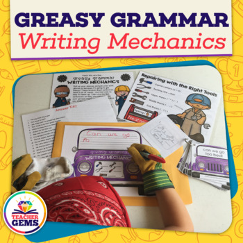 Greasy Grammar Writing Mechanics Writing Center