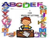 Back to School Practice -  Great ABC Writing Packet for K