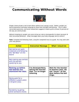 Great Activity For Teaching Positive Classroom Behaviors