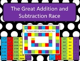 Great Addition and Subtraction Race