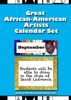 Great African-American Artists Calendar Set