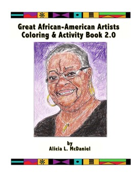 Great African-American Artists Coloring & Activity Book 2.0