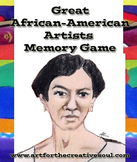 Great African-American Artists Memory Game