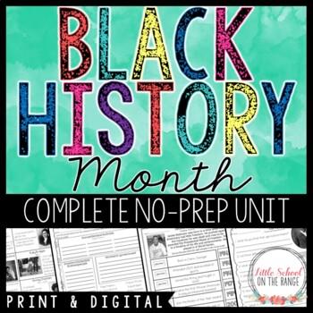 Black History Month - African American Heroes