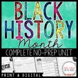 Black History Month - No Prep Unit