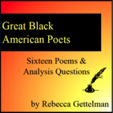Great Black American Poets Pack: From Angelou to Wheatley