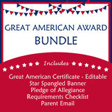 Great American Award Bundle - Star Spangled Banner, Pledge