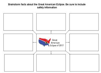 Great American Eclipse Graphic Organizer