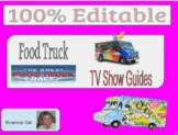 Great American Food Truck & Documentaries Guided Notes