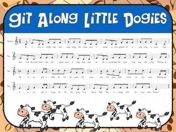 Favorite Folk Songs BUNDLE – Great American Frontier 10 Song Teacher Kit