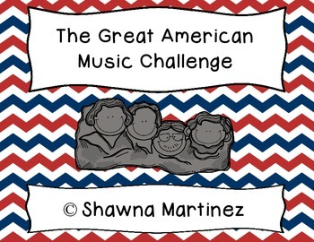 """Great American Music Challenge"" a study of four essential American songs"