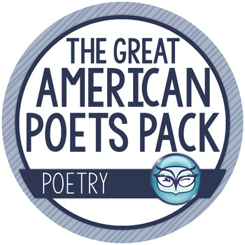 Great American Poets Analysis Bundle:  Frost, Dickinson, &