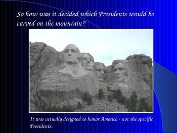 Presidents/Mount Rushmore