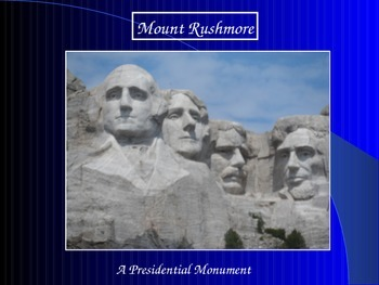 Presidents/Mount Rushmore
