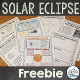 Great American Solar Eclipse 2017 Lesson & Activities