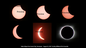 Great American Solar Eclipse Photograph 8 X 12