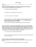 Great American Solar Eclipse WebQuest