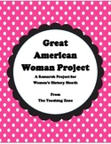 Great American Women Project for Women's History Month