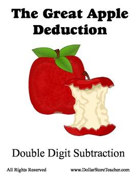 Great Apple Deduction - Double Digit Subtraction - Common