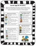 Great Apps & Websites Handout for Parents