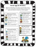 Great Apps & Websites Parent Handout