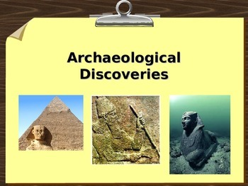 Archaeological Discoveries PowerPoint