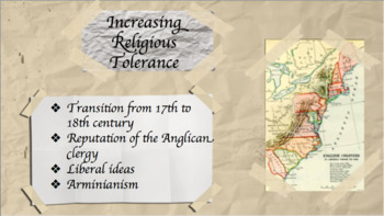 Great Awakening Lecture (US History)