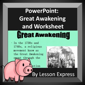 Great Awakening PowerPoint with Handout