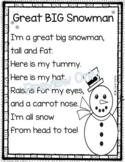 Great BIG Snowman - Winter Poem for Kids