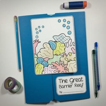 Great Barrier Reef Lapbook Kit