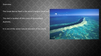 Great Barrier Reef Power Point - All the facts with great ...