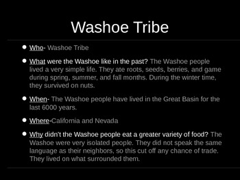 Great Basin Indian Tribes PowerPoint