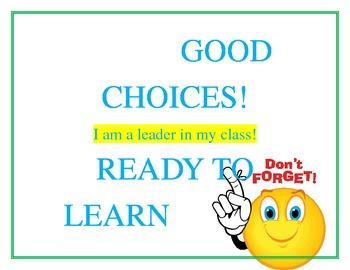Great Behavior Ladder! (6 steps)