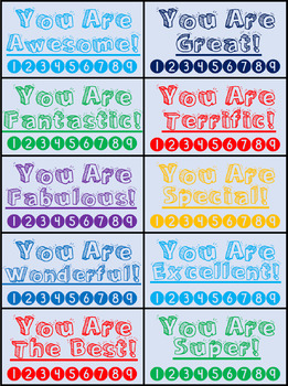 Great Behavior Punch Cards