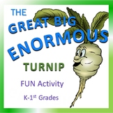Music Activity for K-1st: Great Big Enormous Turnip