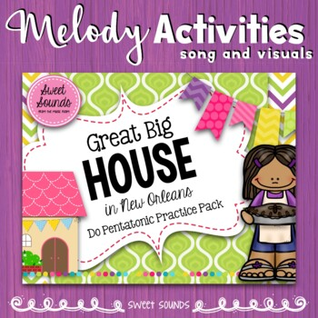 Great Big House Melody Practice Activities - Do Pentatonic Scale